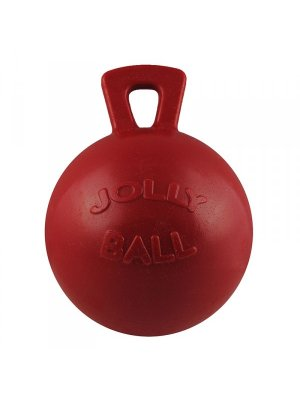 JOLLY PETS Piłka z uchwytem Czerwona 11 cm
