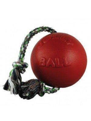 JOLLY PETS Piłka ze sznurem Czerwona 11 cm