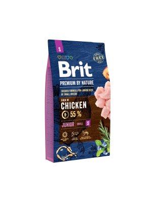 Brit Premium By Nature Junior S 8 kg