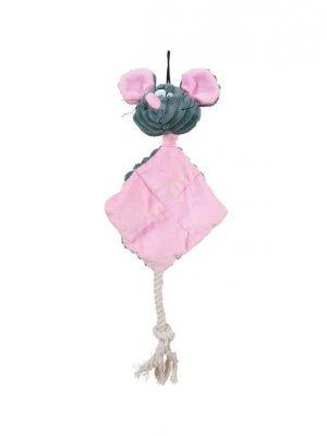 Zolux Mysz różowa - pluszowa - 25 cm