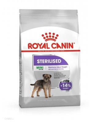Royal Canin Mini Sterilised 1kg karma sucha dla psów dorosłych, ras małych, sterylizowanych