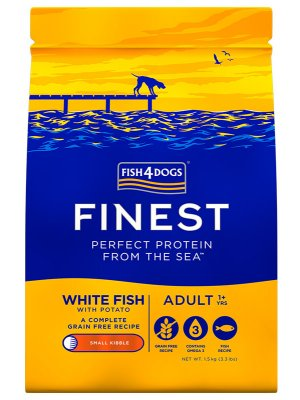 Fish4Dogs Finest Ocean White Fish Adult (Mała Rasa) 1,5 kg