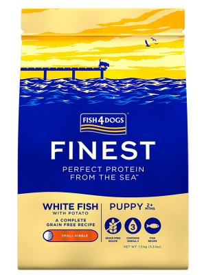Fish4Dogs Finest Ocean White Fish Puppy (Mała Rasa) 12 kg