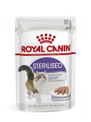 36x ROYAL CANIN Sterilised w sosie 85g karma mokra w sosie dla kotów dorosłych, sterylizowanych