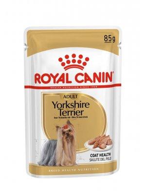 36x ROYAL CANIN Yorkshire Terrier Adult 85g karma mokra - pasztet, dla psów dorosłych rasy yorkshire terrier