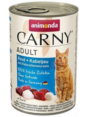 Animonda Carny Adult Wołowina Dorsz Korzeń Pietruszki 400g