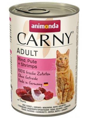Animonda Carny Adult Wołowina Indyk i Krewetki 400g