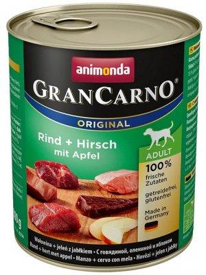 Animonda GranCarno Adult Jeleń i Jabłko 800 g
