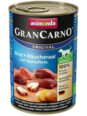 Animonda GranCarno Adult Wędzony węgorz i Ziemniak 400 g