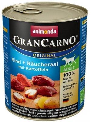 Animonda GranCarno Adult Wędzony węgorz i Ziemniak 800 g