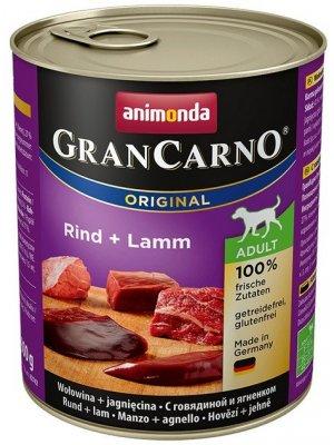 Animonda GranCarno Adult Wołowina i Jagnięcina 800 g