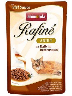 Animonda Rafine Soupe Adult Cielęcina w Sosie Pieczeniowym 100g