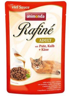 Animonda Rafine Soupe Adult Indyk Cielęcina Ser 100g