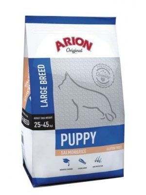 Arion Original Puppy Large Łosoś z Ryżem 12 kg