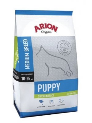 Arion Original Puppy Medium Kurczak z Ryżem 3 kg