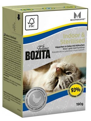 Bozita Cat Indoor&Sterilised 190g