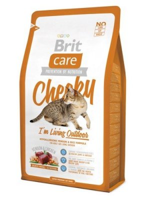 Brit Care Cheeky I'm Living Outdoor 0,4kg