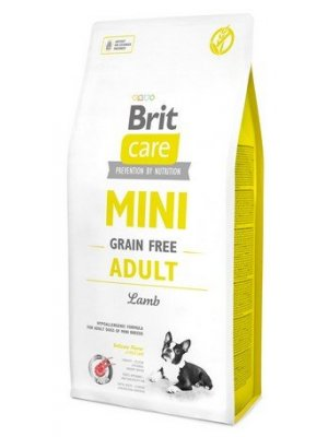 Brit Care Mini Grain-Free Adult Lamb 7 kg