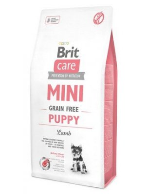 Brit Care Mini Puppy Grain-Free Lamb 2 kg