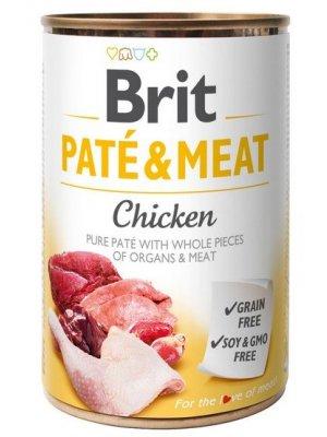Brit Pate & Meat Kurczak 400g