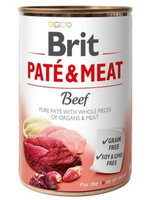 Brit Pate & Meat Wołowina 400g