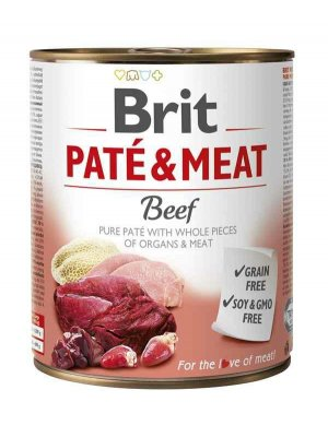 Brit Pate & Meat Wołowina 800g