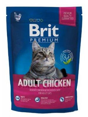 Brit Premium Cat Adult Kurczak 800 g