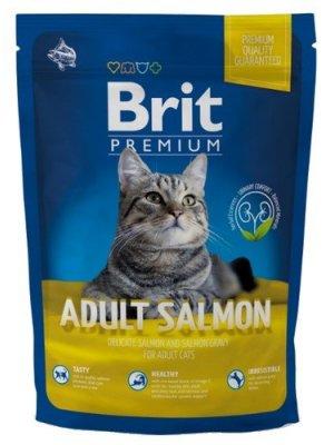 Brit Premium Cat Adult Łosoś 800g