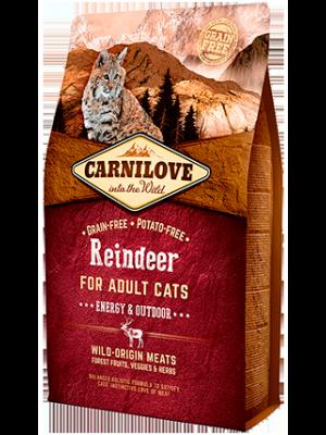 Carnilove Cat Reindeer Energy&Outdoor 6kg