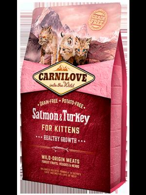 Carnilove Cat Salmon&Turkey Kitten 0,4kg