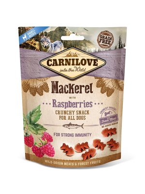 Carnilove Dog Snack Fresh Crunchy Mackerel and Raspberries 200g