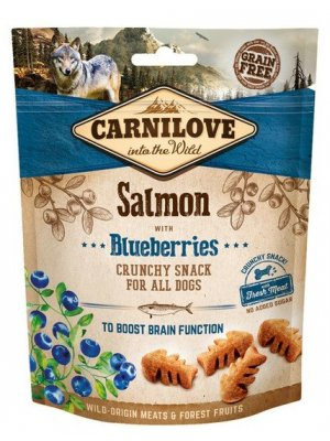 Carnilove Dog Snack Fresh Crunchy Salmon and Blueberries 200g