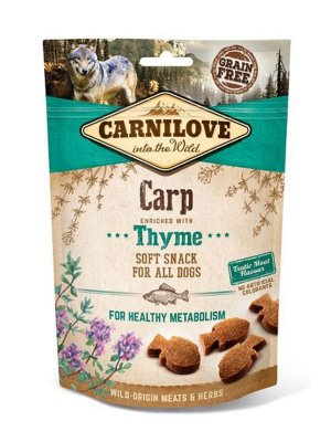 Carnilove Dog Snack Fresh Soft Carp and Thyme 200g