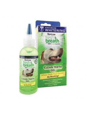 Tropiclean Żel do higieny jamy ustnej dla psów i kotów Clean Teeth Gel Whitening 118 ml