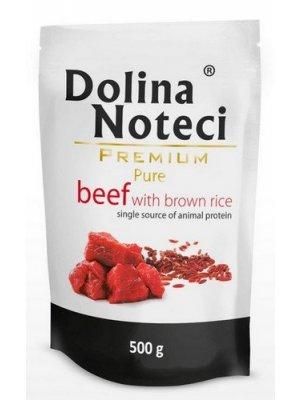 Dolina Noteci Premium Pure Wołowina z Ryżem 500g