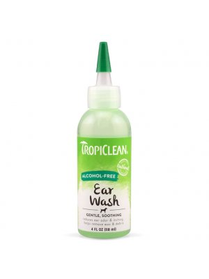 Tropiclean Preparat do czyszczenia uszu Ear wash alcohol - free 118 ml