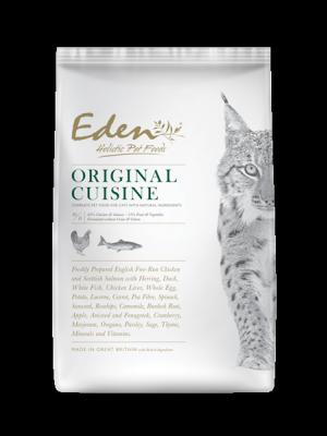EDEN ORIGINAL CUISINE – Karma dla Kotów Kurczak, Łosoś 1,5kg