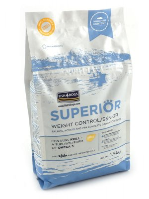 Fish4Dogs Superior Weight Control (Duża Rasa) 1,5 kg