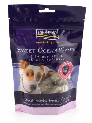Fish4Dogs Sweet Ocean Wraps 100 g
