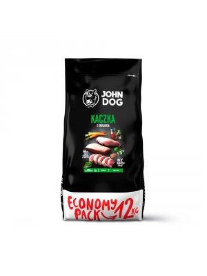 John Dog Karma Sucha Premium Kaczka z Królikiem dla Małych Psów 12kg