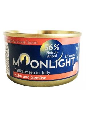 Moonlight Dinner Nr 8 - Kurczak i warzywa w galaretce 80g