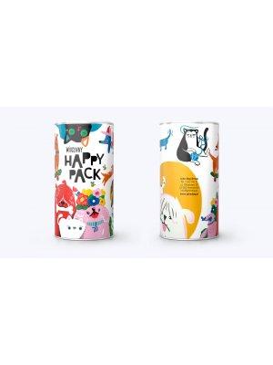 John Dog Przysmak Tuba Happy Pack Suszone Mięso z Ryby Krążki 300g
