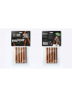 John Dog Przysmak Paluch Premium z Zająca 98% 5 szt.