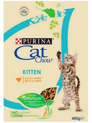 Purina Cat Chow Kitten Kurczak 0,4kg