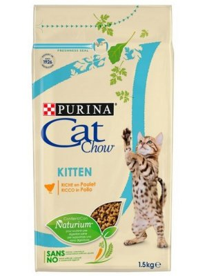 Purina Cat Chow Kitten Kurczak 1,5kg