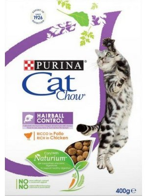 Purina Cat Chow Special Care Hairball Control 0,4kg