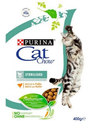 Purina Cat Chow Special Care Sterlised 0,4kg