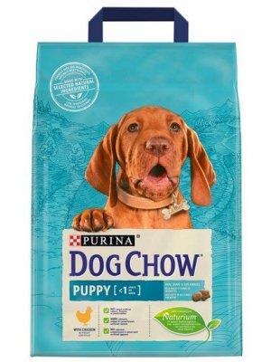 Purina Dog Chow Puppy Kurczak 2,5kg