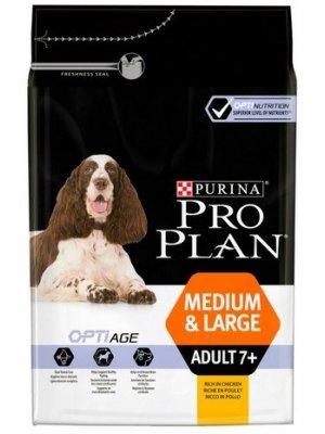 Purina Pro Plan Medium & Large Adult 7+ Kurczak 14 kg