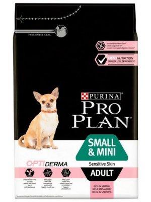 Purina Pro Plan Small & Mini Adult Sensitive Skin Łosoś 3kg